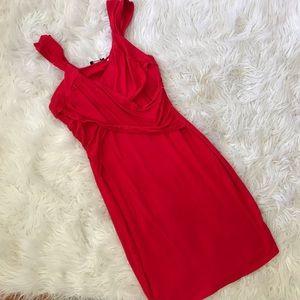 VENUS Red Bodycon Dress